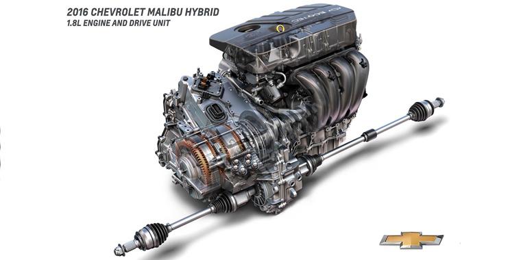 Гибрид Chevrolet Malibu 2016