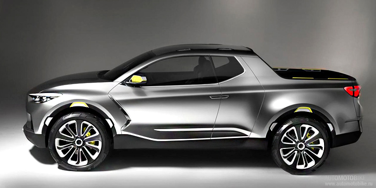 Концепт Hyundai Santa Cruz