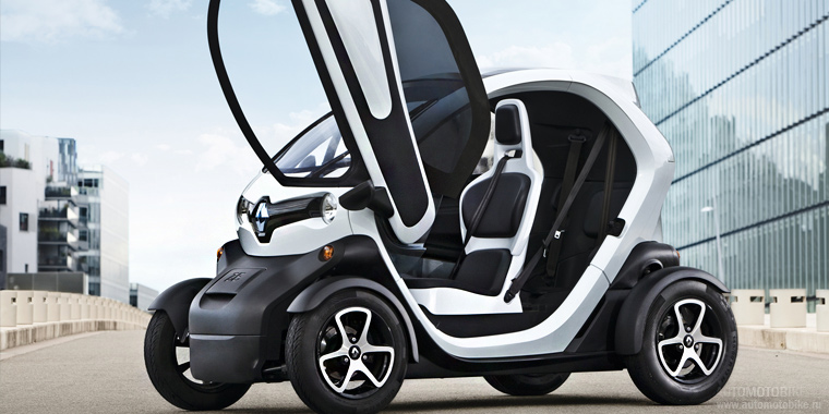 Электомобиль Renault Twizy 45