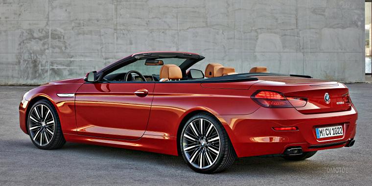 Кабриолет BMW 6 2015