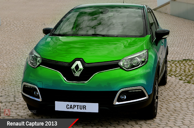 Renault Capture обзор Рено Капчур
