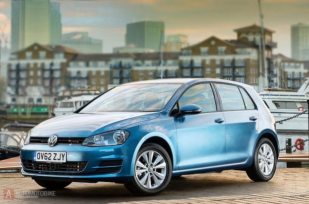 Новый хэтчбек Volkswagen Golf VII 2013 2014 2015