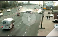 Аварии в Краснодаре на ул Северная на мосту