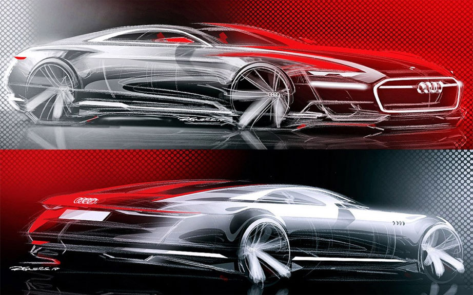 Тизер концепта Audi Prologue Concept