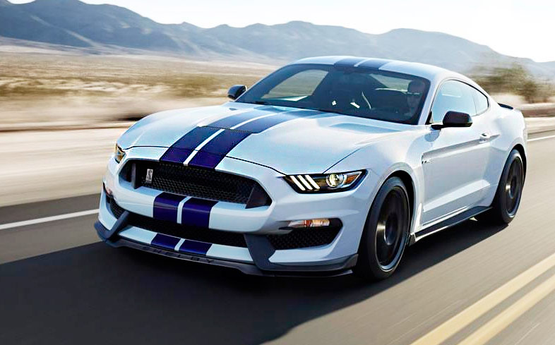Ford рассекретил спорткар Shelby GT350 Mustang