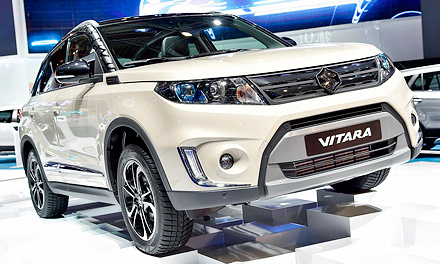 Париж-2014: Suzuki Vitara