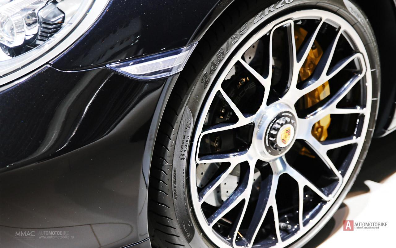 Спортивное купе Porsche 911 Turbo 2014