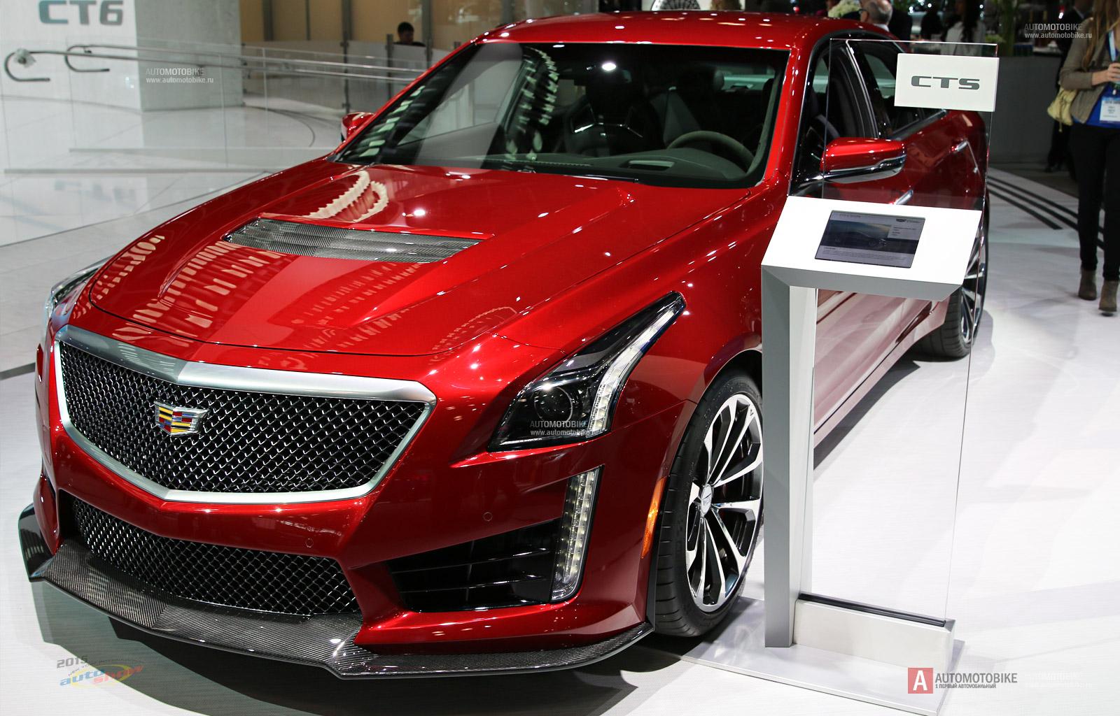 «Заряженный» седан Cadillac CTS-V 2016 обзор нового Кадиллака ЦТС-В от Автомотобайк ру