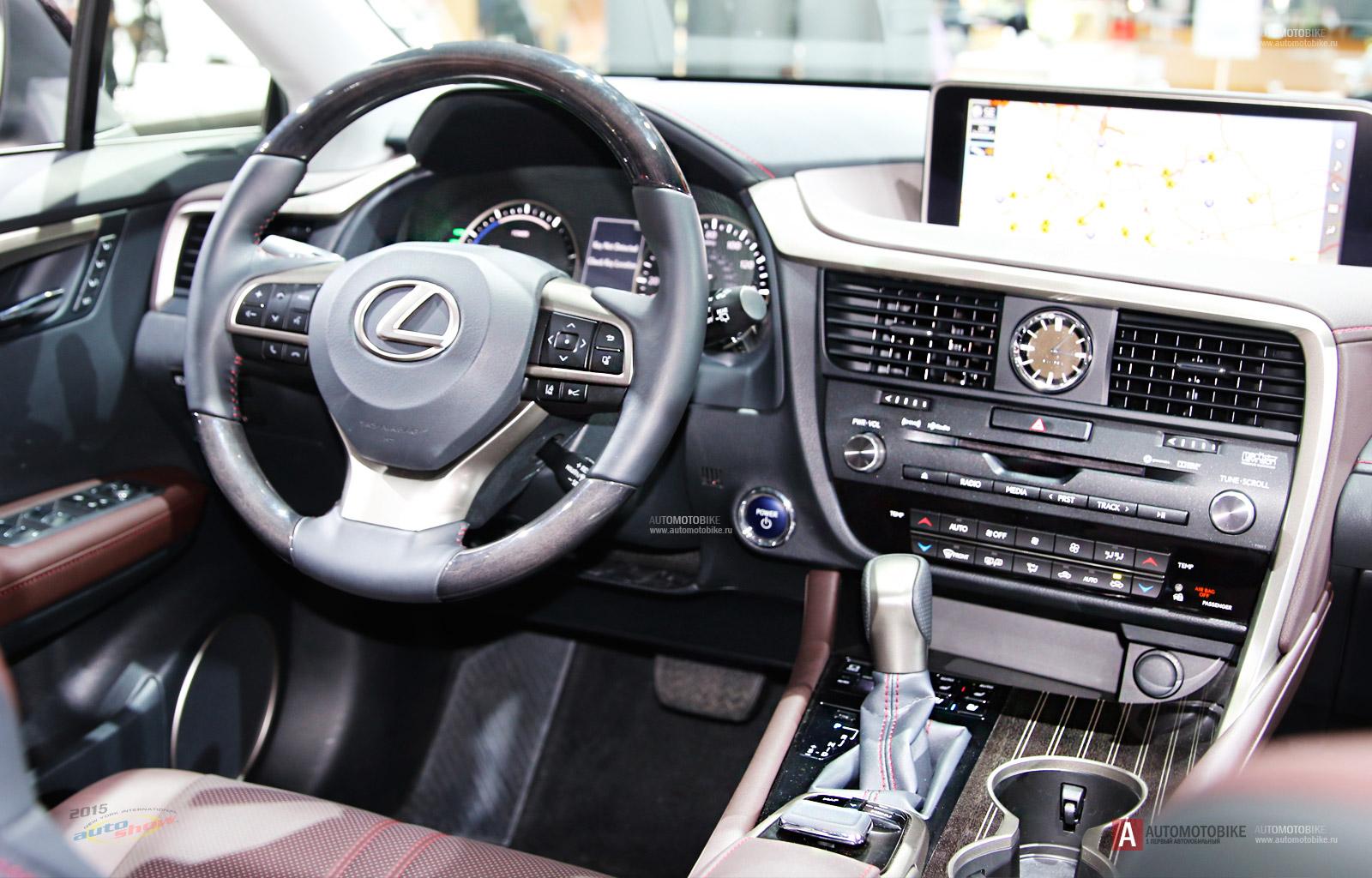 Lexus Rx 450h >> Обзор нового Lexus RX 450h 2016 модельного года – Автомобильные статьи – Статьи и обзоры ...