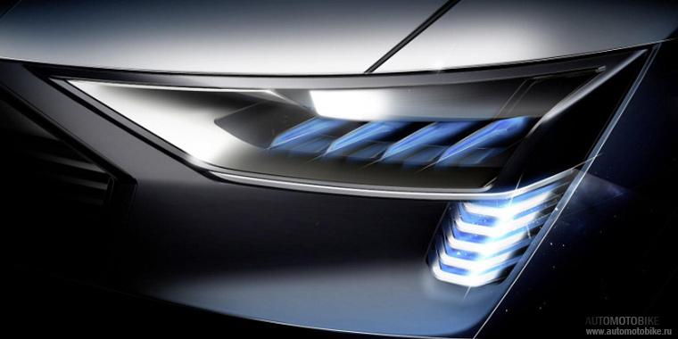 Оптика Audi e-tron quattro