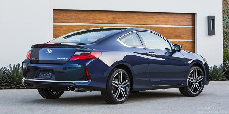 Обновленное купе Honda Accord Coupe
