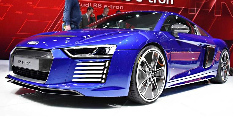 Женева 2015: электрический Audi R8 e-tron