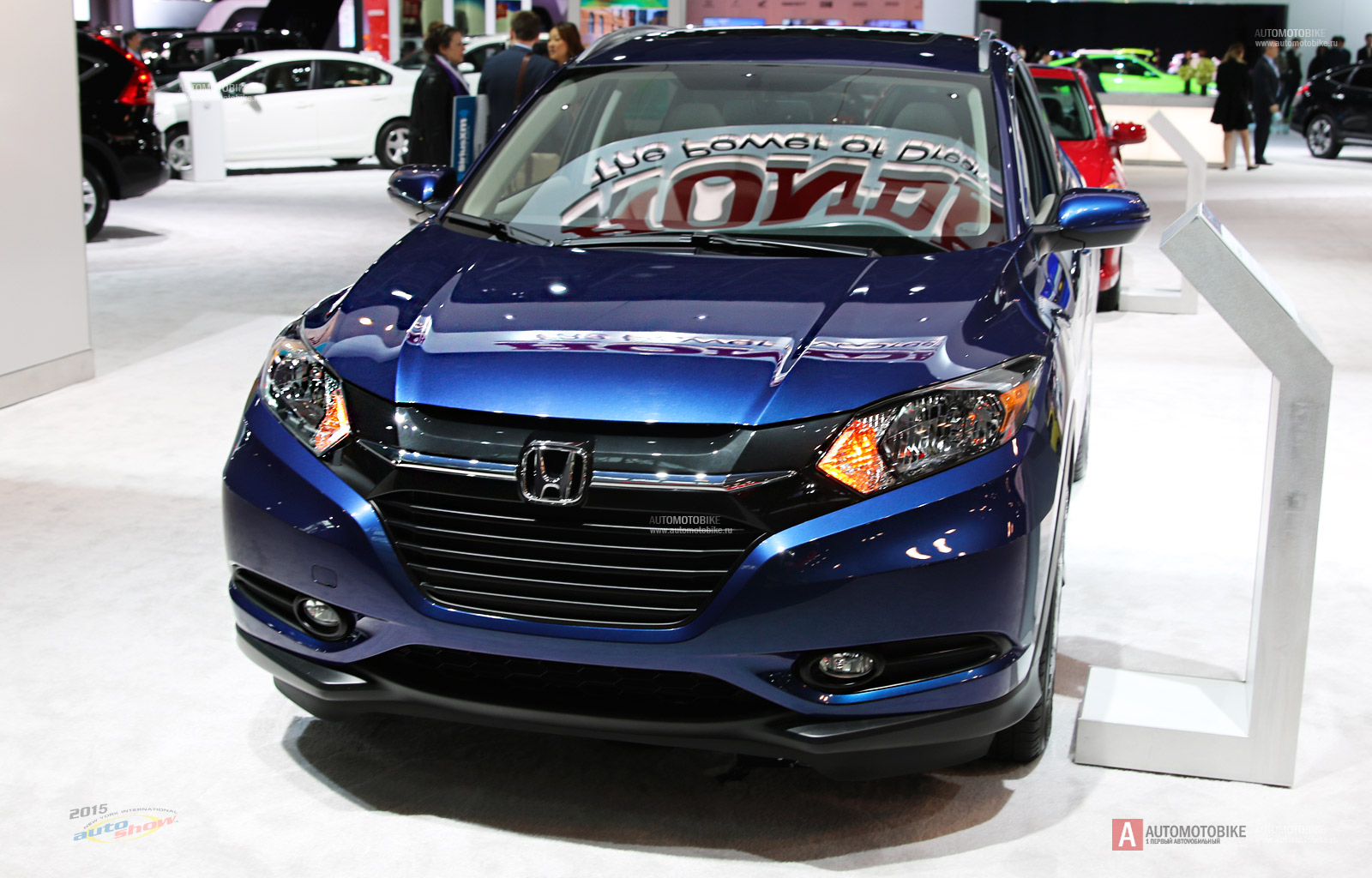 Honda HR-V at New York Auto Show 2015 photo and review