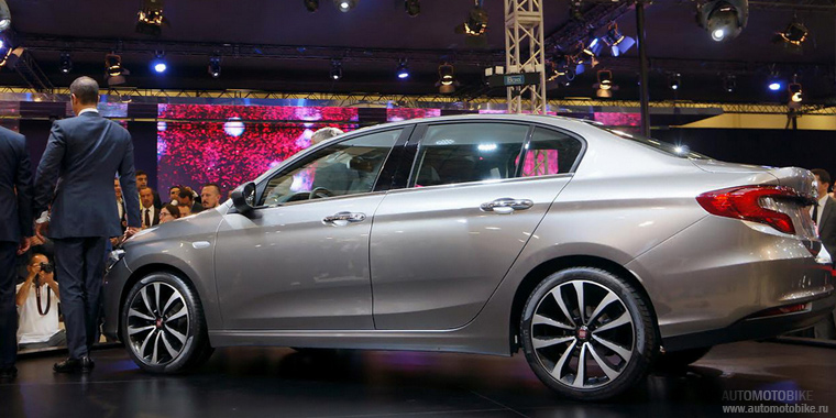 Новый седан Fiat Aegea