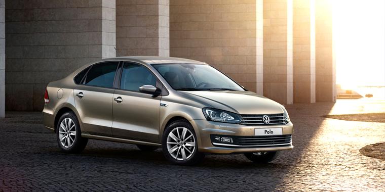 Седан Volkswagen Polo 2015