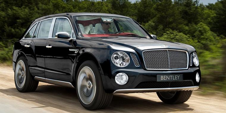 Первый кроссовер Bentley Bentayga