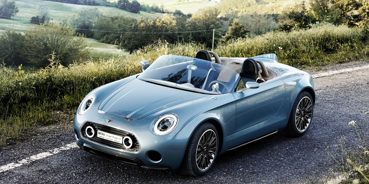 Родстер Mini Superleggera Vision Concept
