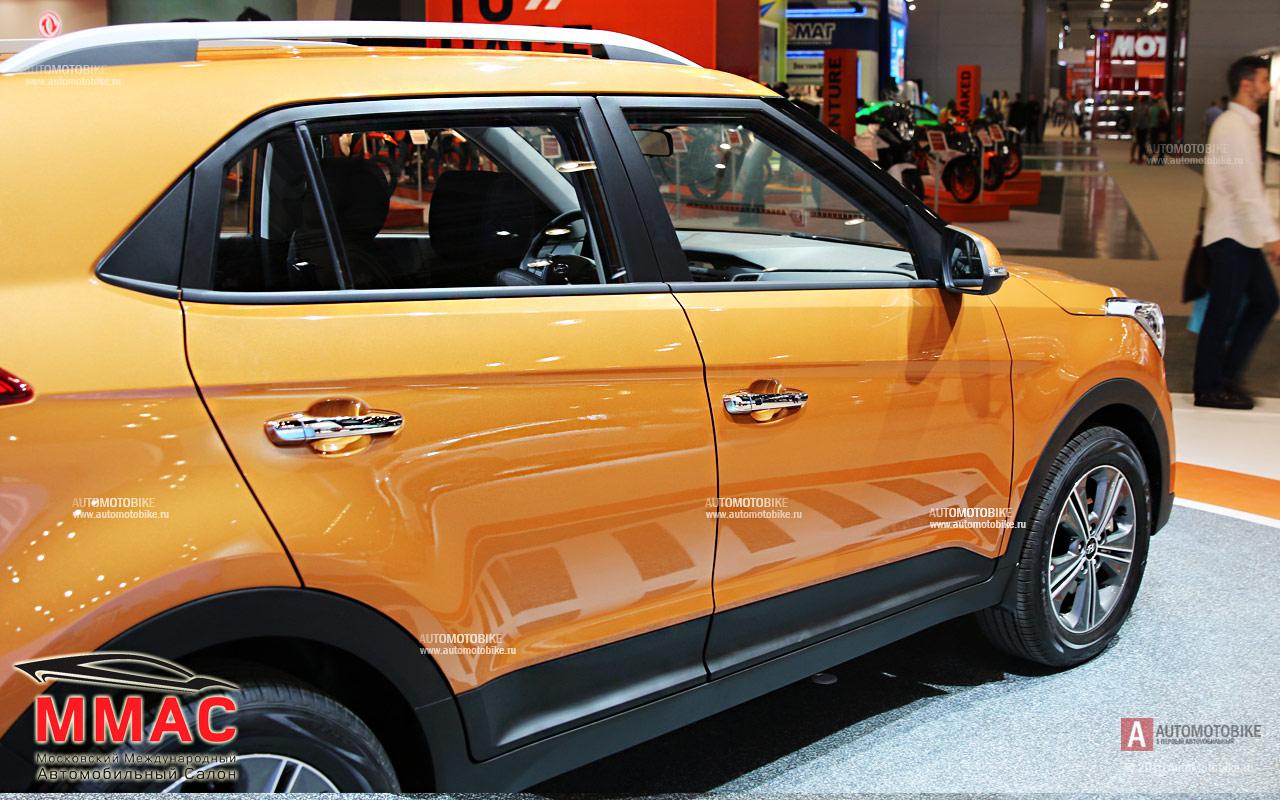 Фотографии нового Hyundai Creta 2016 на ММАС