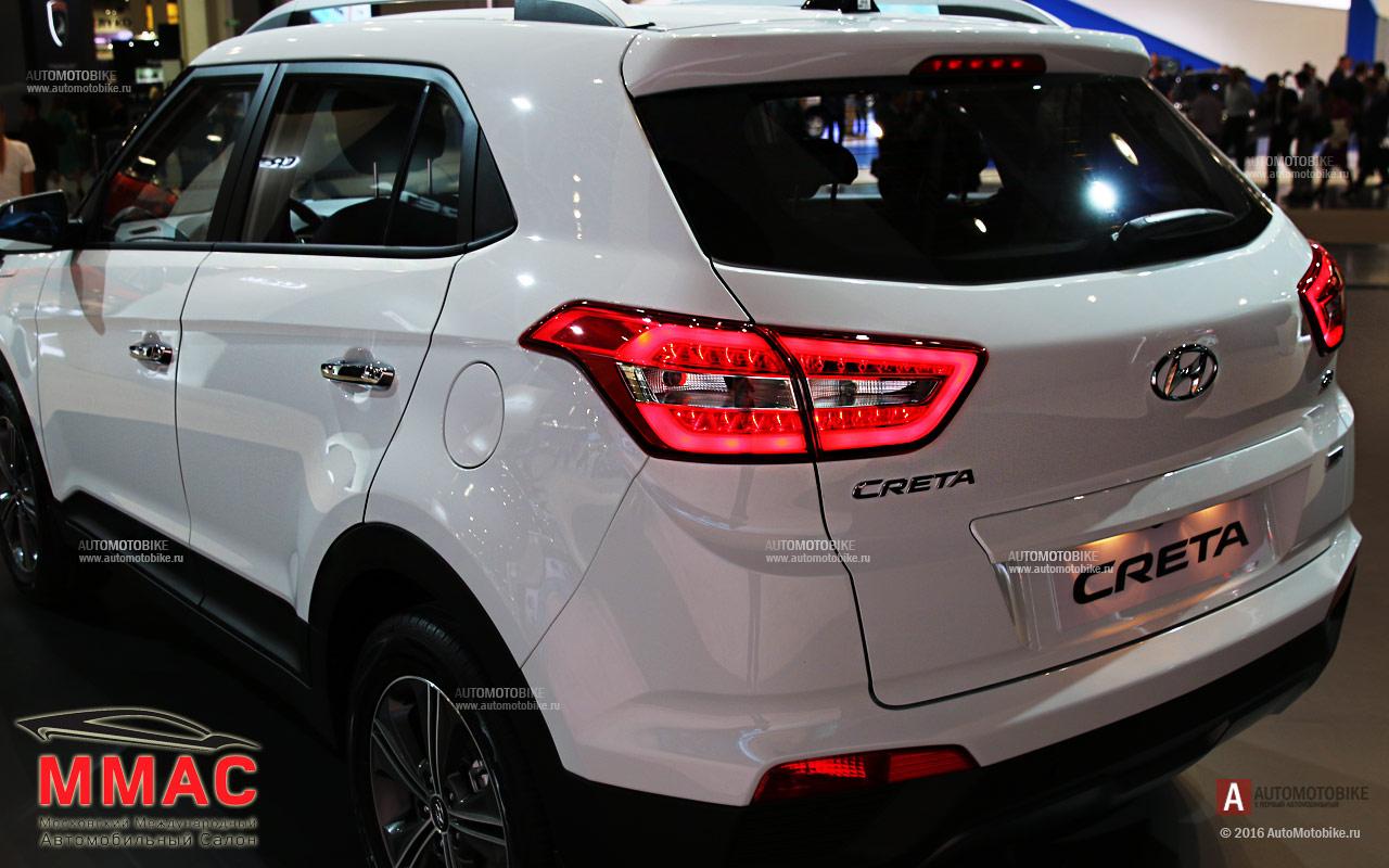Hyundai Creta 2016 фотографии задней оптики и фонарей. Обзор кроссовера