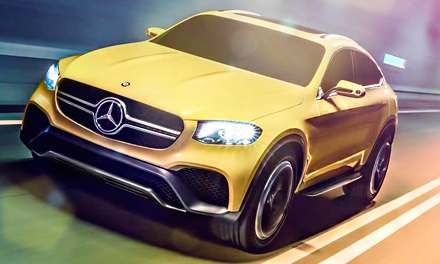 2016 Mercedes Concept GLC Coupe