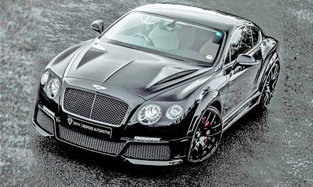 Onyx Bentley Continental GTX