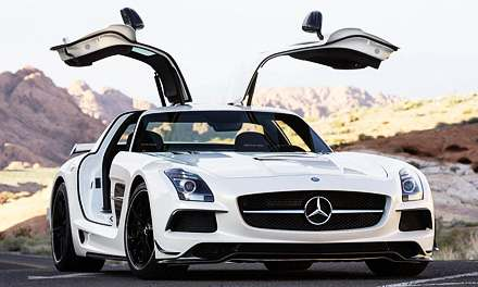 Mercedes SLS AMG Black Series 2014