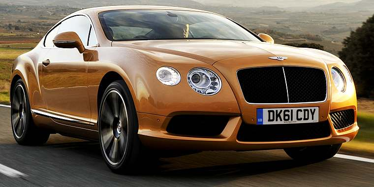 bentley continental gt, 2005 характеристики