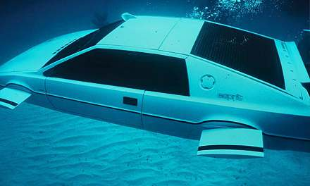 Lotus Esprit Submarine