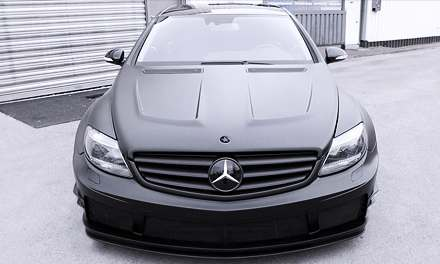 Mercedes CL 500 Black Matte