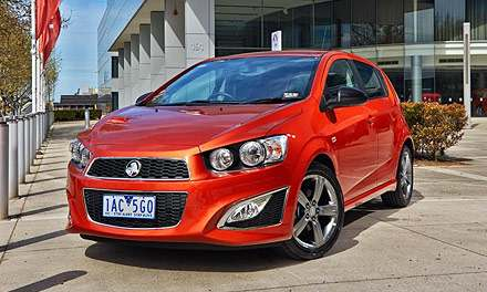 Holden Barina RS 2014