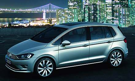VW Golf Sportsvan Concept