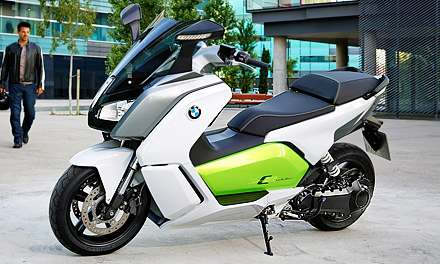 Скутер BMW C Evolution