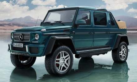 Mercedes-Maybach Landaulet G650
