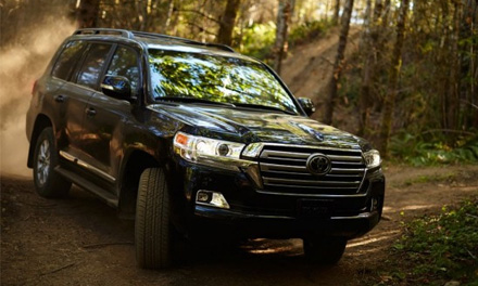 Обзор  Toyota LAND CRUISER 200 2016