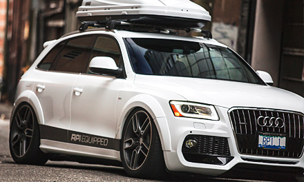Audi Q5 RPI Equipped
