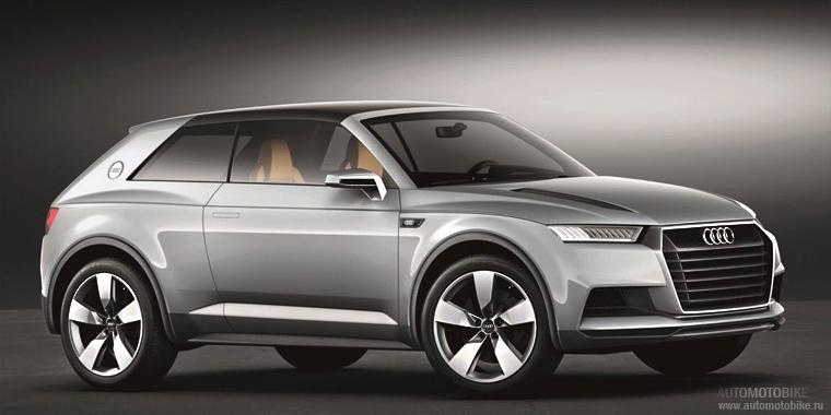 Новая Audi Q1 появится на рынке в следующем году