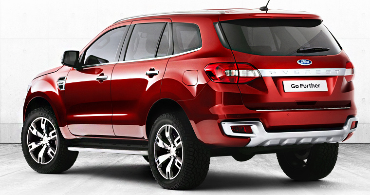 Новый Ford Everest 2015