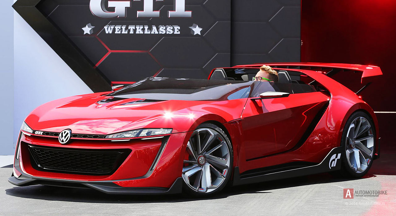 VW GTI Roadster Concept