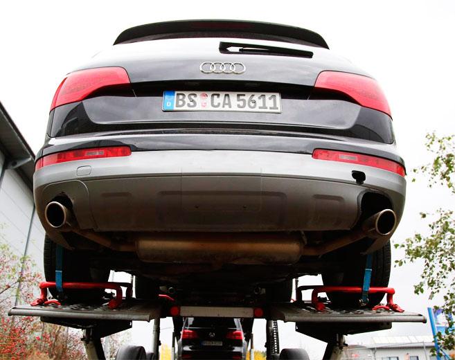 Третье поколение Volkswagen Touareg замаскировали под Audi Q7