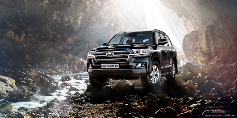 2015 Toyota Land Cruiser 200