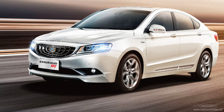 Geely Emgrand GT покажут на ММАС 2016