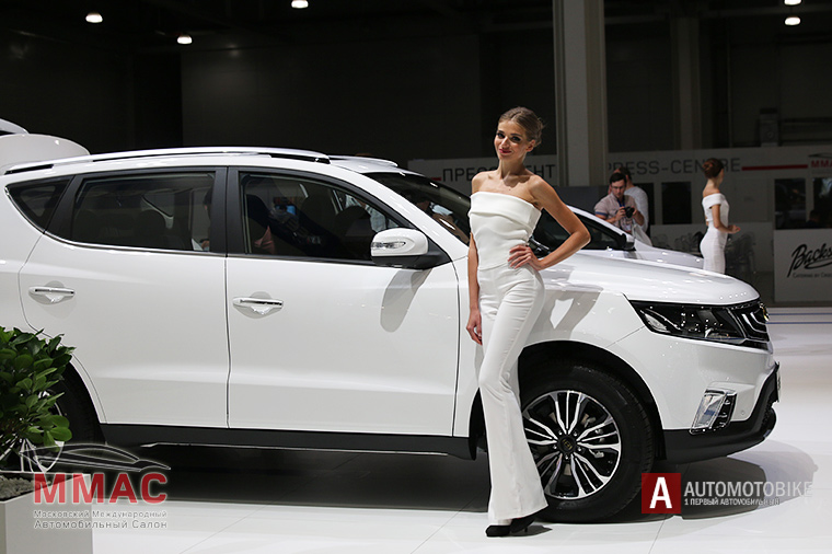 Geely Emgrand X7 на ММАС-2016