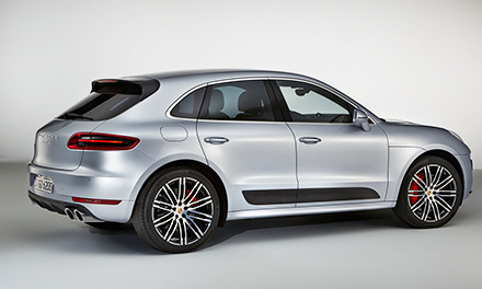 Новый Porsche Macan Turbo