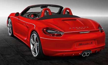 Porsche Boxster S Guards Red