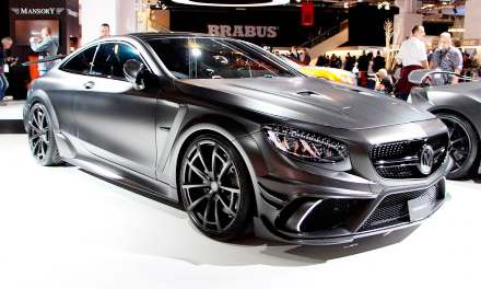 Mercedes-AMG S63 Coupe Black Edition by Mansory