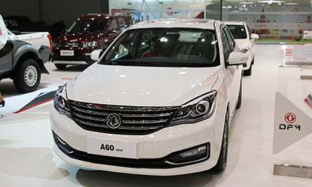 Dongfeng A60 на ММАС-2016