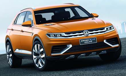 Volkswagen CrossBlue Coupe (2013)