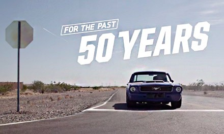 Ford Mustang отпраздновал 50-летие