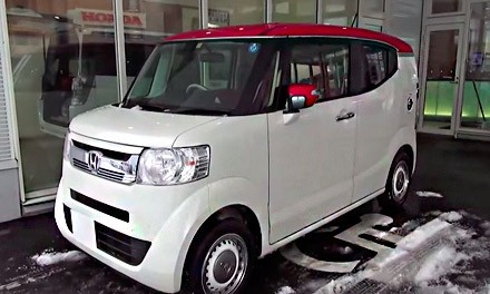Новая HONDA N-BOX SLASH X