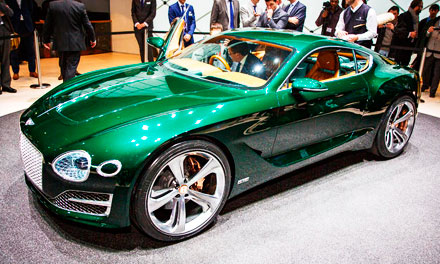 Концепт Bentley EXP 10 Speed 6 в Женеве-2015